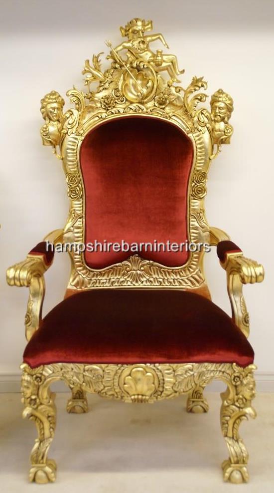 Black bedroom chair